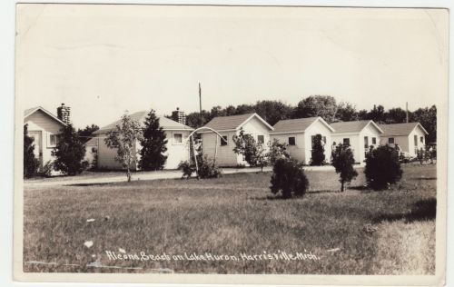 Alcona Beach Cottages 1950